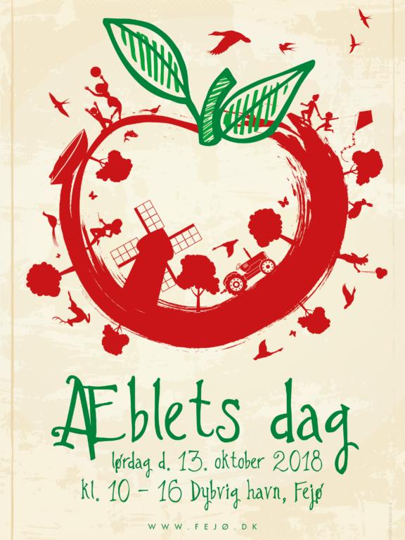 Æblets dag plakat 2018