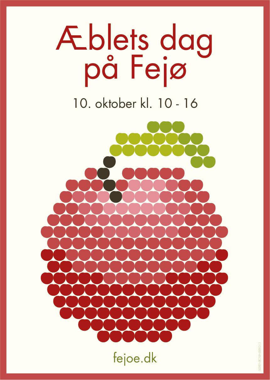 Æblets dag plakat